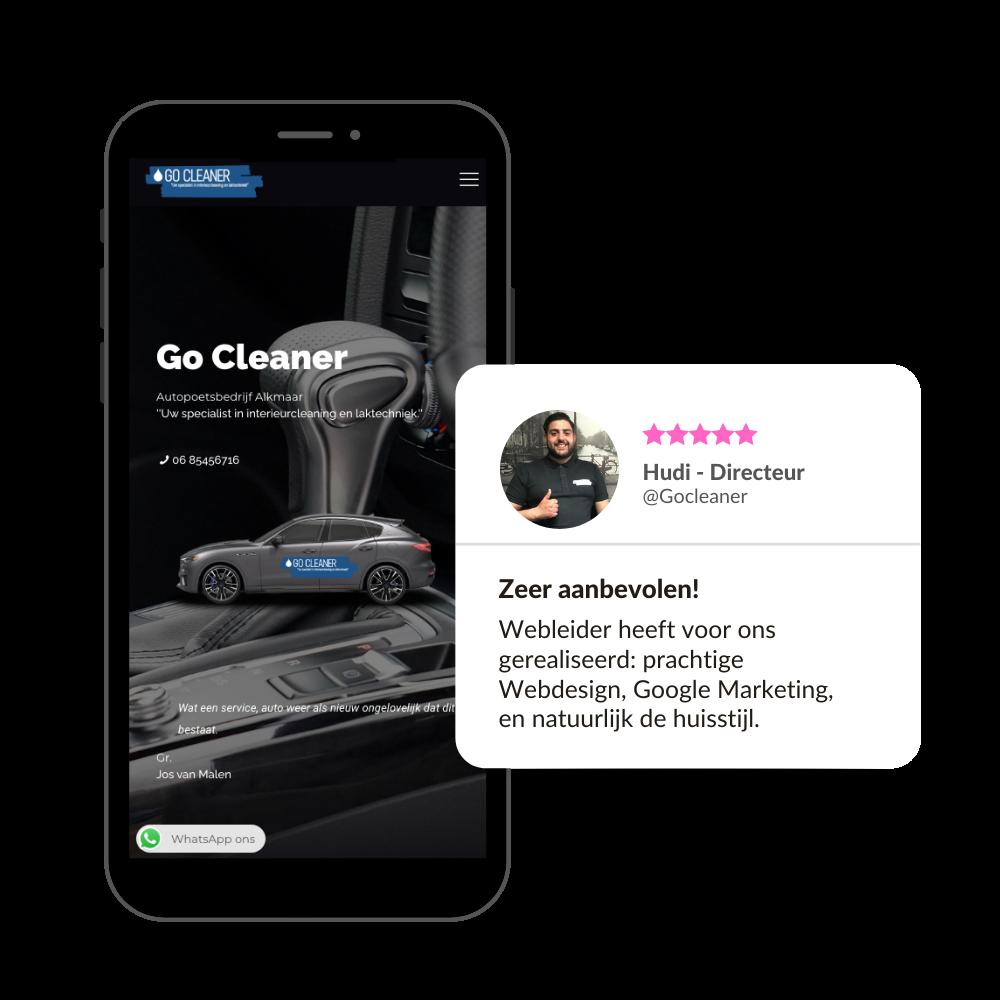 Go Cleaner Alkmaar - Uw auto poetsbedrijf in Alkmaar en omstreken